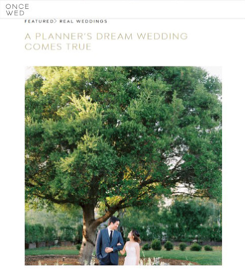 Featured wedding oncewed a planners dream wedding come true featured wedding oncewed a planners dream wedding come true natalie choi events meiwen photography junglespirit Choice Image